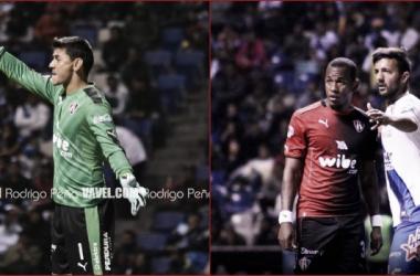 Ambos futbolistas completaron los 90 minutos   Foto: Rodrigo Peña / VAVEL y Atlas FC