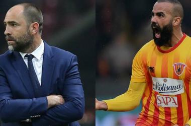 Tudor (40), nuovo allenatore dell'Udinese e Sandro (29), il guerriero del Benevento