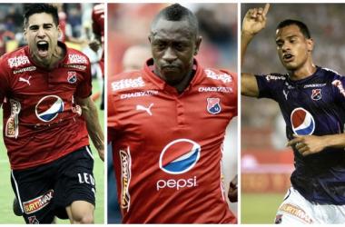 Mauricio Molina, Juan Fernando Caicedo y Juan David Cabezas.|Fotos: DaleRojo