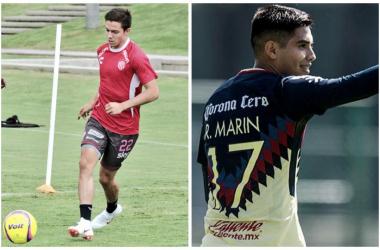 (Foto: Club Necaxa y Club América)