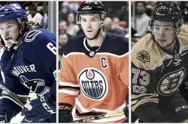 "<span style=""color: rgb(102, 102, 102); font-family: Arial; font-size: 20px; font-style: normal; text-align: justify; white-space: pre-wrap; background-color: rgb(255, 255, 255);"">McDavid, Boeser y McAvoy. Algunas de las estrellas del futuro - NHL.com</span>"
