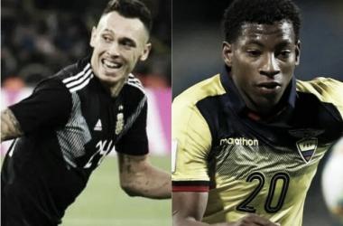 Ocampos y Plata: dos jugadores que asoman en sus selecciones