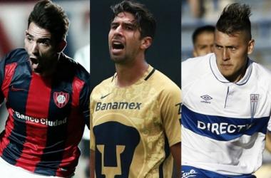 Cauteruccio y Castillo, opciones para reemplazar a Eduardo Herrera en Pumas (Fotomontaje: Andrés Ocampo)