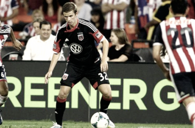 Martin appeared 15 times in MLS action for DC United. (Photo credit: USA Today)