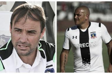 Sierra llegó a Colo Colo para disputar la Copa Chile. (COLLAGE: Luis Burranca - VAVEL)