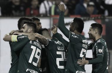 Palmeiras vence Colo-Colo e leva importante vantagem para jogo de volta da Libertadores