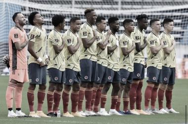 Puntuaciones del equipo colombiano tras su derrota contra Uruguay