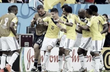 Grupo C de Colômbia já conta com o apuramento