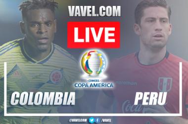 Gols e Melhores momentos de Colômbia 3-2 Peru