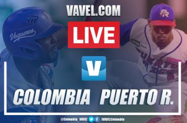 Resumen y carreras: Colombia 2-3 Puerto Rico en Serie del Caribe 2020