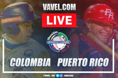 Resumen y carreras: Colombia 1-2 Puerto Rico en Serie del Caribe 2021