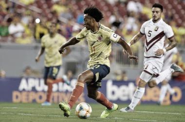 Colombia empató con Venezuela y no sumó victorias en fecha FIFA
