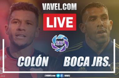 Goals and Highlights: Colón 0-4 Boca Juniors in 2020 Argentine SuperLiga