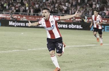 Junior hace nueve de nueve: Jorge Aguirre el héroe del partido