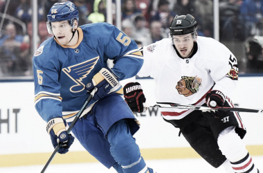 Colton Parayko - St. Louis Blues (Photo courtesy of NHL.com)