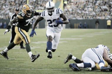 Los Colts dan la campanada en Lambeau Field (Foto: Wisconsin State Journal)