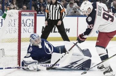 Matt Duchene anotó cuatro puntos en una noche mágica | Foto NHL.com