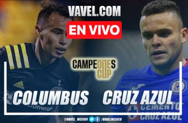 Goles y resumen del Cruz Azul 0-2 Columbus Crew en Campeones Cup 2021