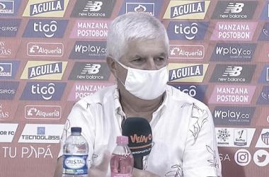 """Julio Comesaña: """"Nos descuidamos y América ganó"""""""