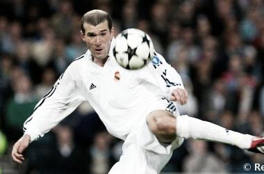 La mágica volea de Zidane