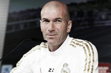 """Zidane: """"A nosotros lo que nos interesa es lo que pasa en el campo"""""""