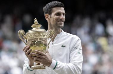 Novak Djokovic Foto Wimbledon