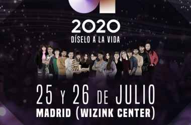"""Operación Triunfo 2020 presenta su espectáculo """"OT2020: Díselo a la vida"""""""