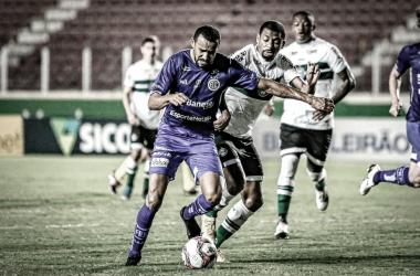 Na única vez que se enfrentaram o Coritiba venceu por 1 a 0 (Foto: Lucas Almeida / ADC)
