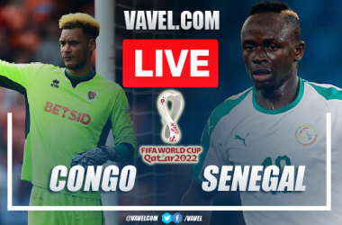 Goals and Highlights: Congo 1-3 Senegal in World Cup Qualifying 2021