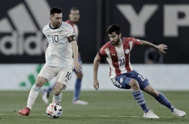 Los esfuerzos de Argentina no alcanzaron para superar a Paraguay