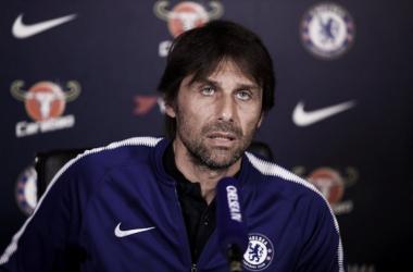 """Antonio Conte:""""Lucharemos por nuestro objetivo"""""""