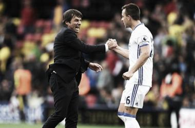 Conte destaca força coletiva do Chelsea após vitória de virada sobre Watford