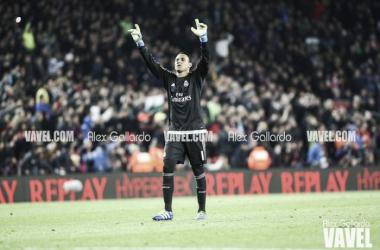 Keylor Navas con el Real Madrid   Fuente: Alex Gallardo