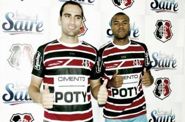 Novas contratações Corais já estão integradas ao elenco. Foto: Divulgação/ Santa Cruz