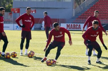 Simeone repite la convoctoria del partido contra Las Palmas