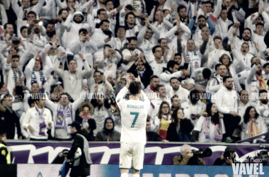 Ronaldo celebrando el pase a semifinales. Foto: Daniel Nieto - VAVEL