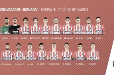 Sergi, novedad ante las bajas para Girona
