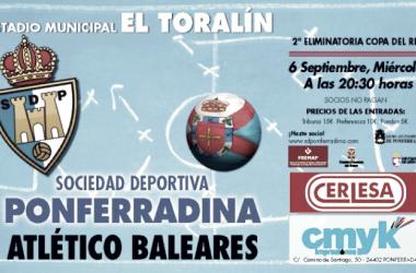 Previa SD Ponferradina - Atlético Baleares: en busca de un rival de Champions que visite El Toralín