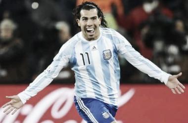 Carlitos y otra oportunidad en la Selección (FOTO: Taringa).