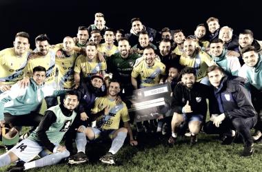 Postal de una victoria de Temperley en la actual Copa Argentina 2017/18. Foto: Prensa Temperley