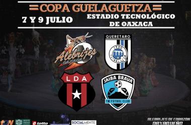 Alebrijes será anfitrión de la Copa Guelaguetza