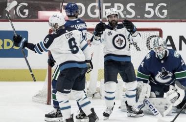 Winnipeg Jets están en segundo lugar en la división Scotia North