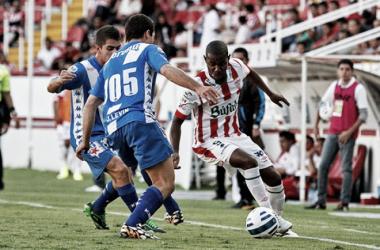 Los Rayos se enfrentaron por ultima vez al Puebla en 2014 en la Copa Mx (Foto:Club Necaxa)