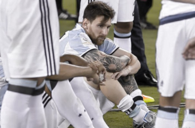 Messi might be done with international football.   Photo: Dean Reid/VAVEL USA