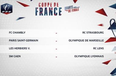 Copa da França: clássico entre maiores vencedores protagoniza quartas de final