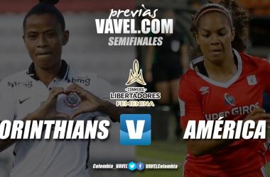 Previa Corinthians vs América de Cali: las colombianas buscarán lograr la hazaña de llegar a la final