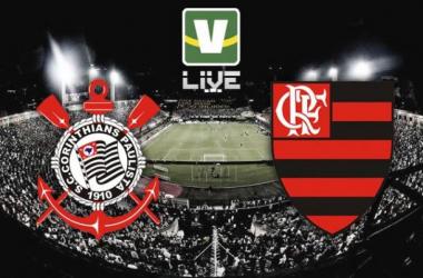Corinthians - Flamengo, assim acompanhamos