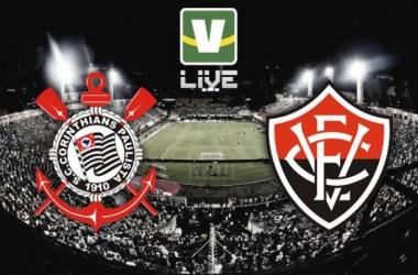 Corinthians - Vitória, assim acompanhamos