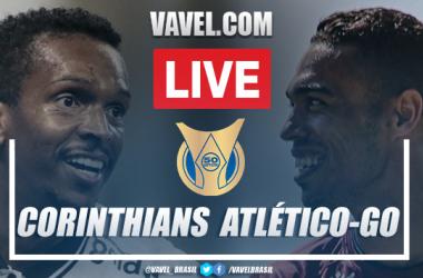 Gol e melhores momentos para Corinthians x Atlético-GO pelo Campeonato Brasileiro (0-1)