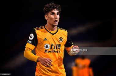 Theo Corbeanu was the stand-out player on the pitch as Wolves U23s earned their first win of 2021.  (Photo by Eddie Garvey/MI News/NurPhoto via Getty Images)
